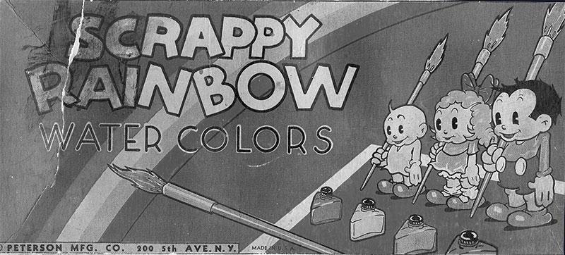 Scrappy Rainbow