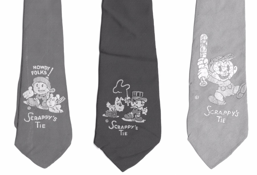 Scrappy neckties