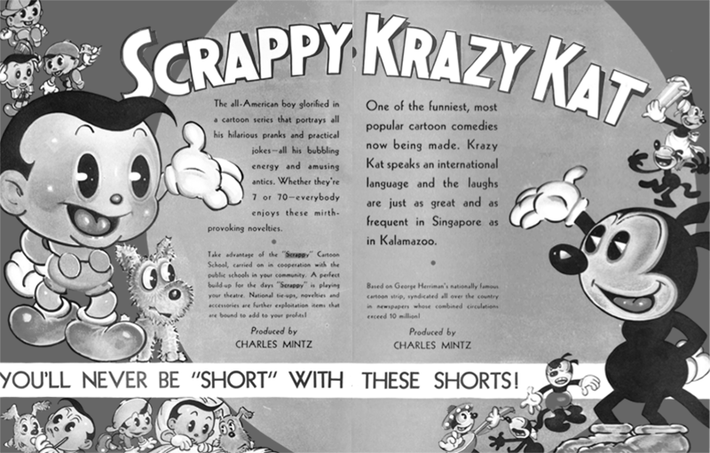 Scrappy and Krazy Kat