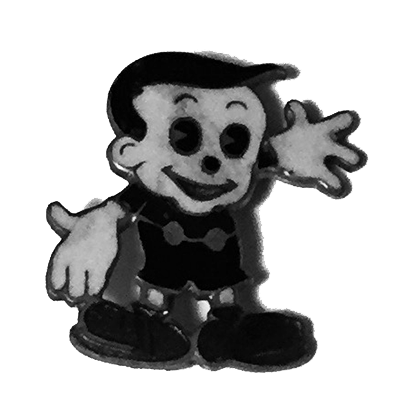 Scrappy pin