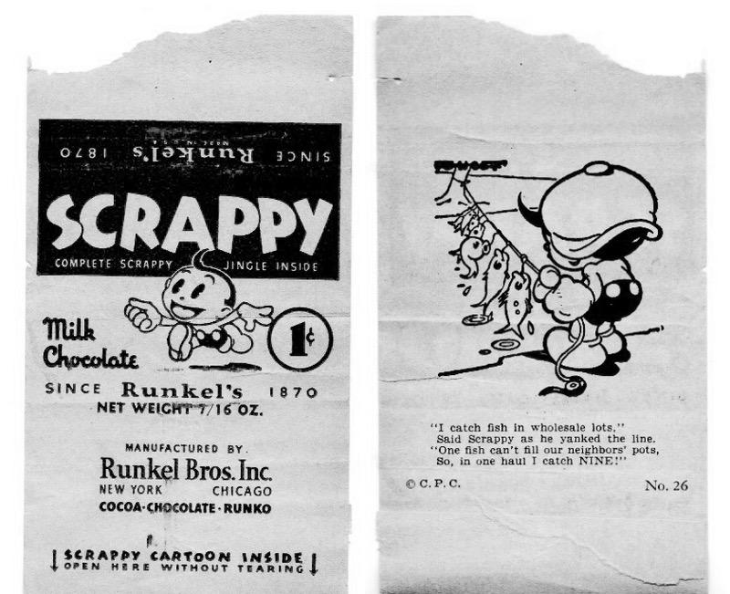 Scrappy wrapper