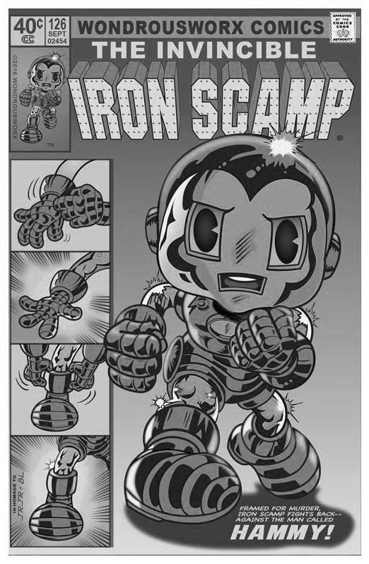 scrappyart-ironman