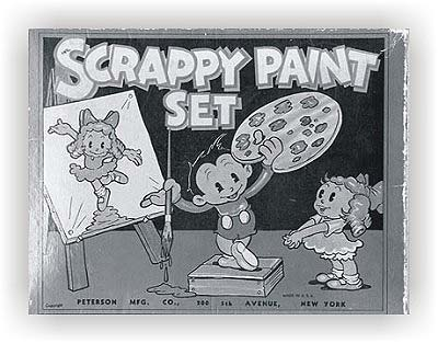 Scrappy paint set